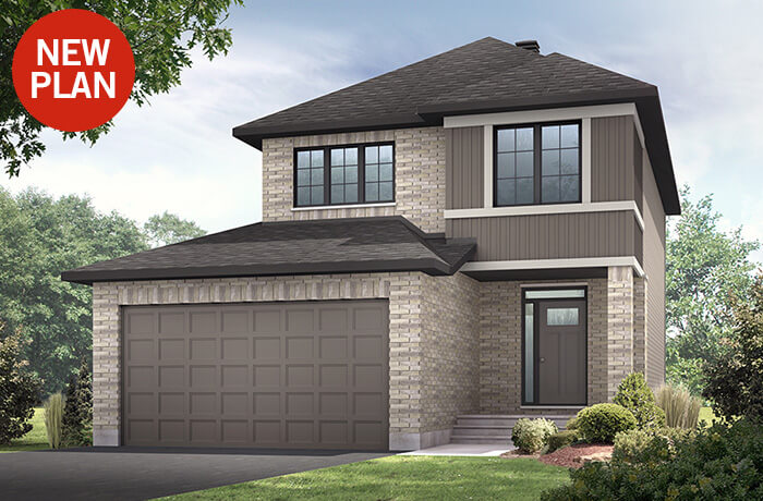 New home in ASHMONT in Millers Crossing in Carleton Place, 1,716 SQFT, 3 - 4 Bedroom, 2.5 Bath, Starting at 474,000 - Cardel Homes Ottawa
