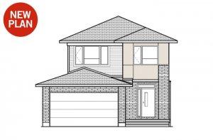 Ashmont - Modern A3 Elevation - 1,716 sqft, 3 - 4 Bedroom, 2.5 Bathroom - Cardel Homes Ottawa