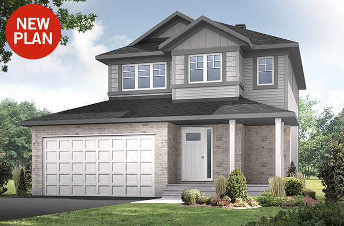 New home in TALA in Millers Crossing in Carleton Place, 1,556 SQFT, 3 Bedroom, 2.5 Bath, Starting at 470,000 - Cardel Homes Ottawa