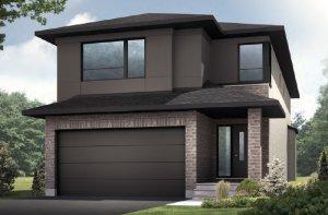 CORDERO - PS - Modern A3 Elevation - 2,640 sqft, 4 - 5 Bedroom, 2.5 - 4 Bathroom - Cardel Homes Ottawa