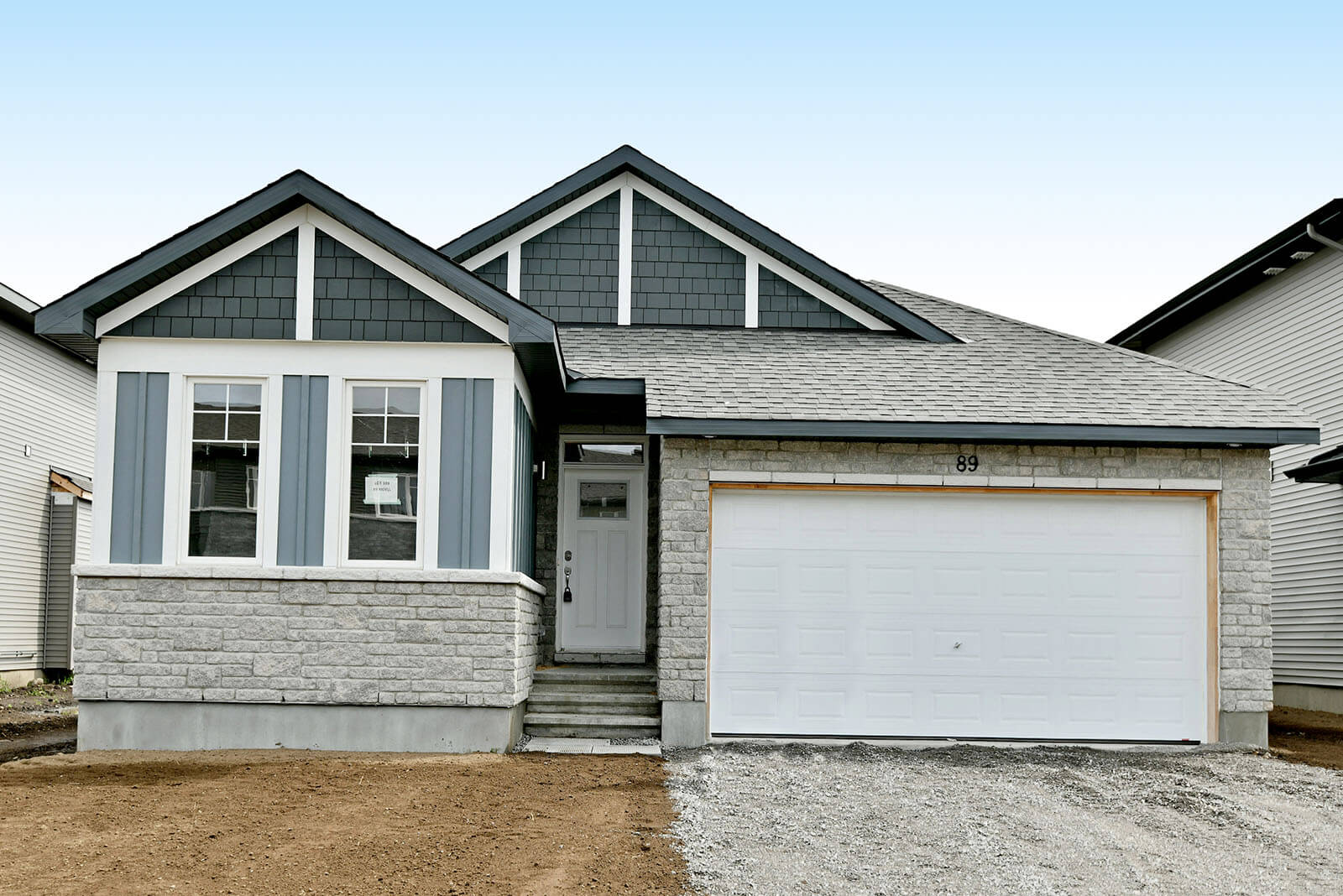 New Ottawa Single Family Home Quick Possession Cameron in Millers Crossing in Carleton Place, located at 89 Riddell St, Carleton Place Built By Cardel Homes