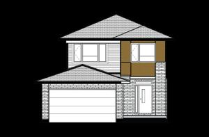 Ashmont_A3_Modern_Urban_700x460 Elevation - 1,716 sqft, 3 - 4 Bedroom, 2.5 Bathroom - Cardel Homes Ottawa