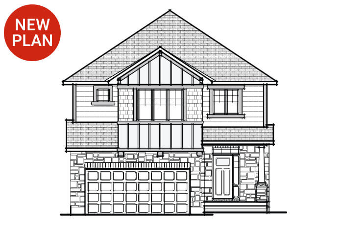 New home in BERKSHIRE 2 in Millers Crossing in Carleton Place, 2,549 SQFT, 4 Bedroom, 2.5 Bath, Starting at 522,000 - Cardel Homes Ottawa