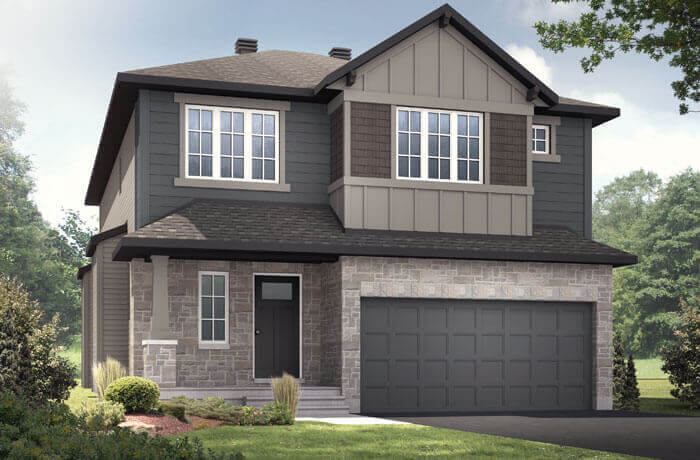 New home in DEVONSHIRE 2 in Millers Crossing in Carleton Place, 2,227 SQFT, 4 Bedroom, 2.5 Bath, Starting at 719,000 - Cardel Homes Ottawa