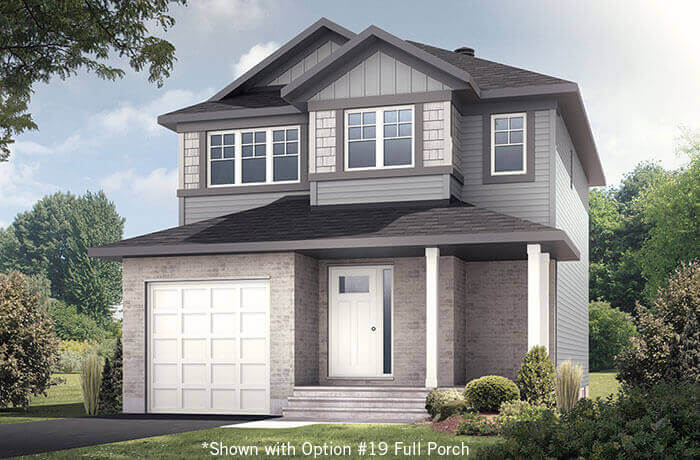 New home in MADIGAN in EdenWylde, 1,957 SQFT, 3 Bedroom, 2.5 Bath, Starting at  - Cardel Homes Ottawa