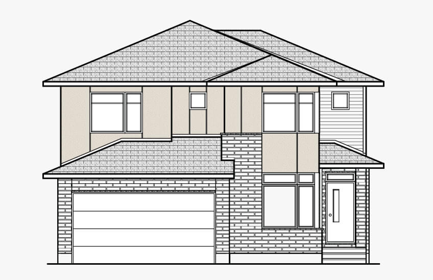 New Ottawa Single Family Home Quick Possession Nichols in Blackstone in Kanata South, located at 280 Sceptre Way, Kanata Built By Cardel Homes Ottawa