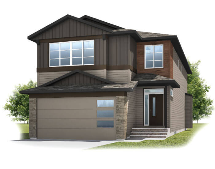New home in ASTER 1 in Savanna, 2,609 SQFT, 4 Bedroom, 2.5 Bath, Starting at 580,000 - Cardel Homes Calgary