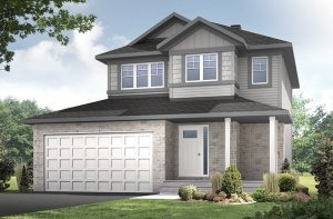 Tala_A1-Canadiana-700x460px Elevation - 1,556 sqft, 3 Bedroom, 2.5 Bathroom - Cardel Homes Ottawa