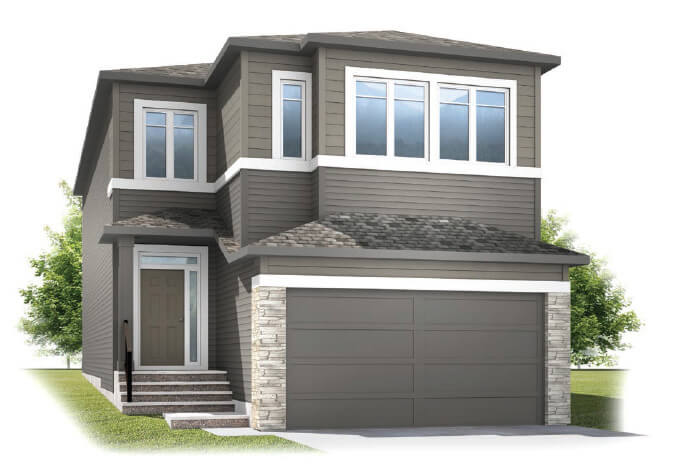 cardel-homes-calgary-cornerbrook-aster-1-front-garage-model-home