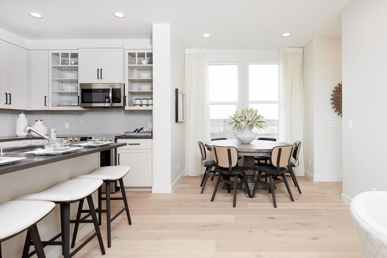 New Calgary  Model Home Mensa in Cornerbrook, located at 16 Cornerbrook Way NE Built By Cardel Homes Calgary
