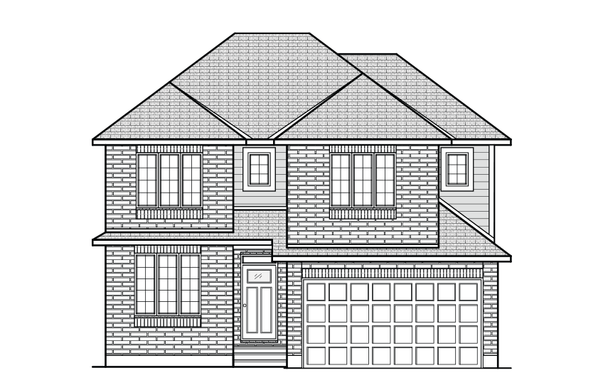 New Ottawa Single Family Home Quick Possession Cornell in Blackstone in Kanata South, located at 136 Groningen Street Built By Cardel Homes Ottawa