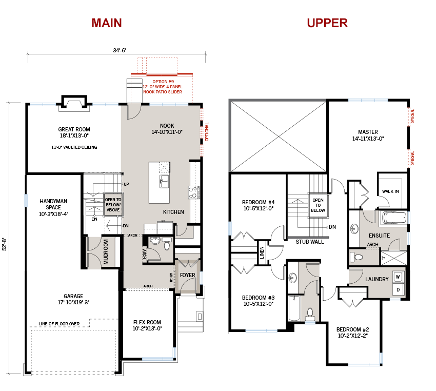 New Ottawa Single Family Home Quick Possession Nichols Floorplan in Blackstone in Kanata South, located at 280 Sceptre Way Built By Cardel Homes Ottawa