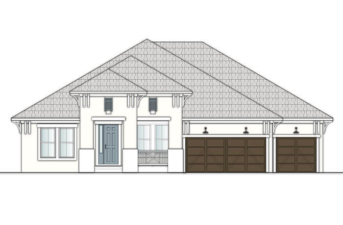 New home in WESLEY in MiraBay, 2,830 - 3,228 SQFT, 4 Bedroom, 3-4 Bath, Starting at 399,990 - Cardel Homes Tampa