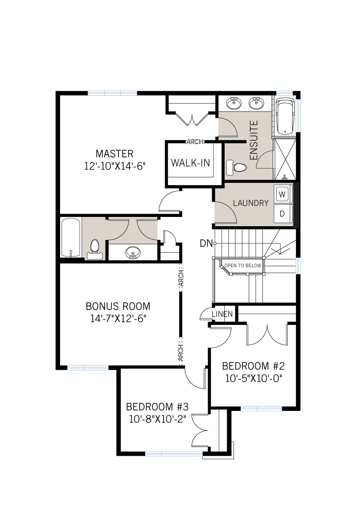 The Montage home upper floor quick possession in Blackstone in Kanata South, located at 108 Westphalian Avenue, Kanata Ottawa Built By Cardel Homes
