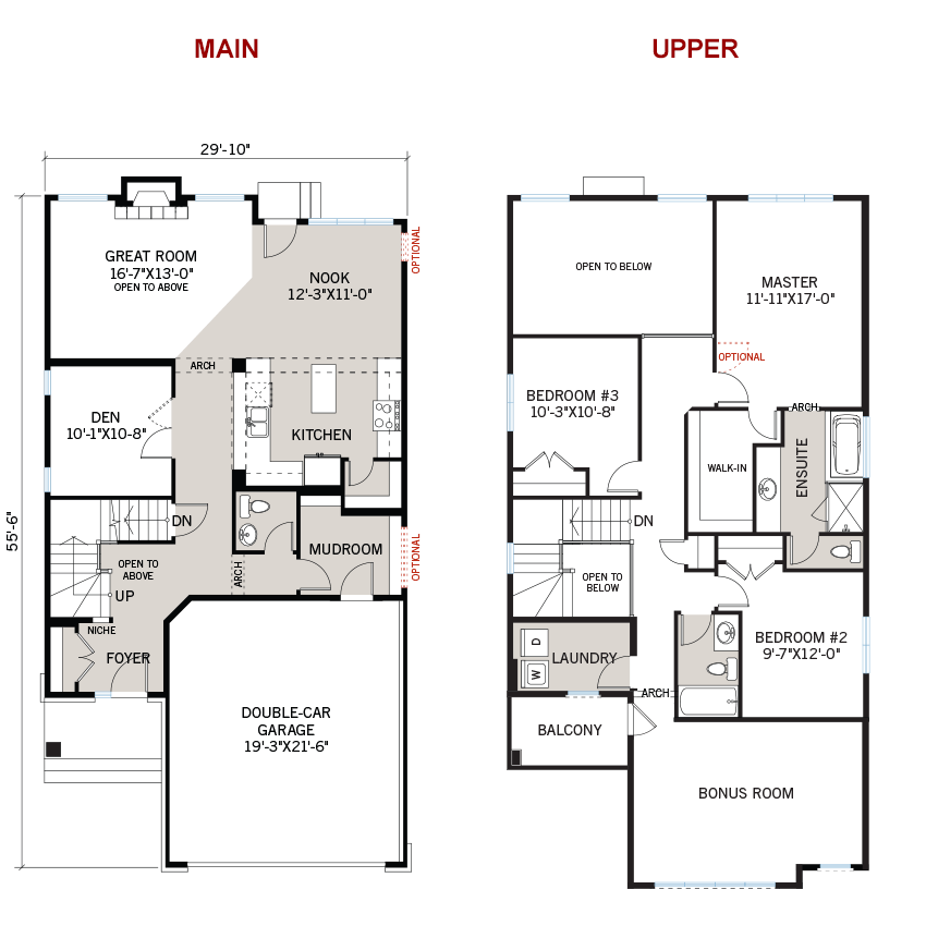 New Ottawa Single Family Home Quick Possession North Hampton Floorplan in Creekside, located at 762 Kirkham Crescent Built By Cardel Homes Ottawa