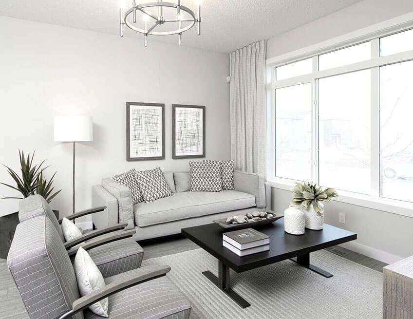 The Sage - 1,272 sq ft - 3 bedrooms - 2.5 Bathrooms -  View Cornerbrook Floorplans  - Cardel Homes Calgary