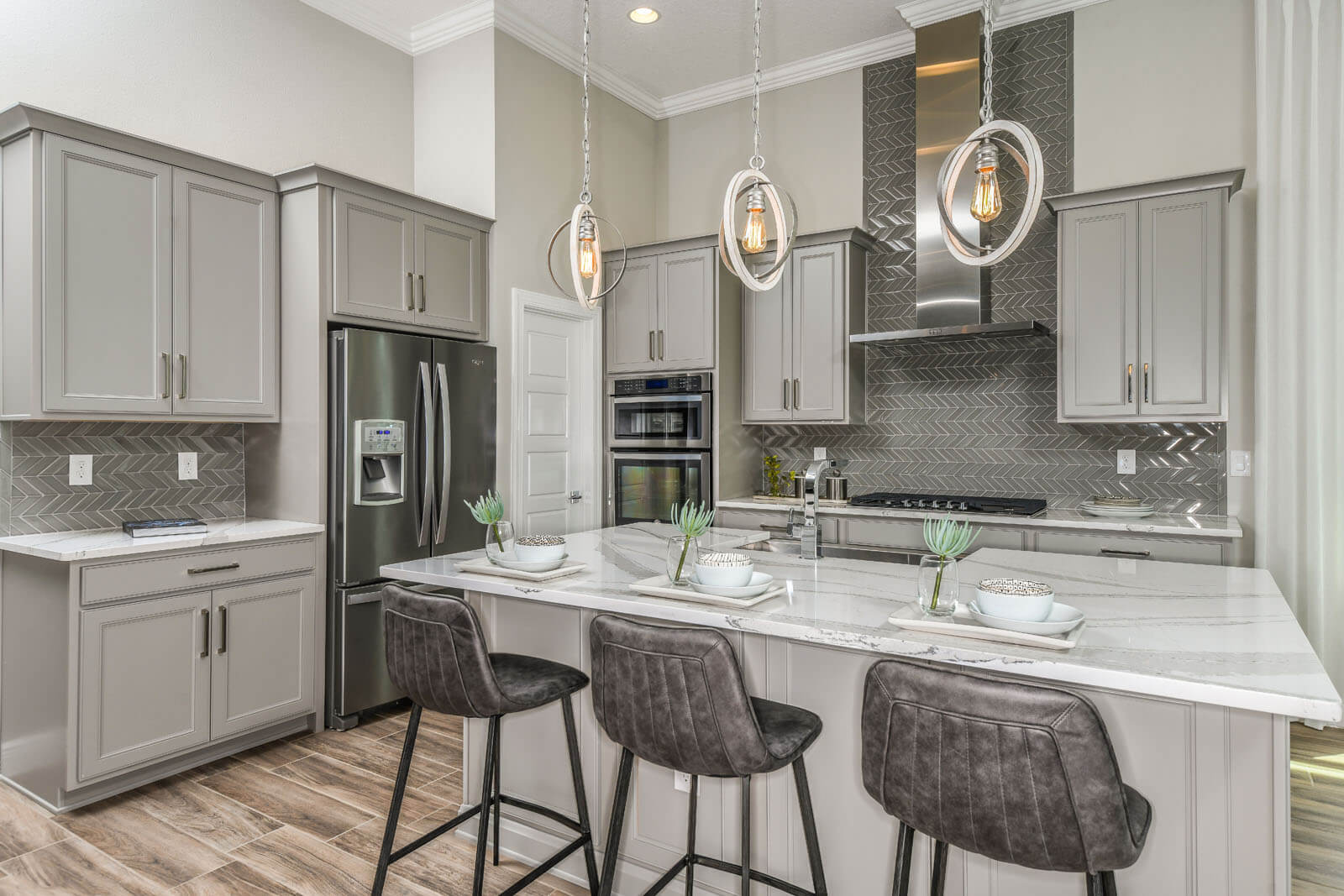 New Tampa  Model Home Henley in Bexley, located at 4093 Epic Cove, Land O' Lakes Built By Cardel Homes Tampa