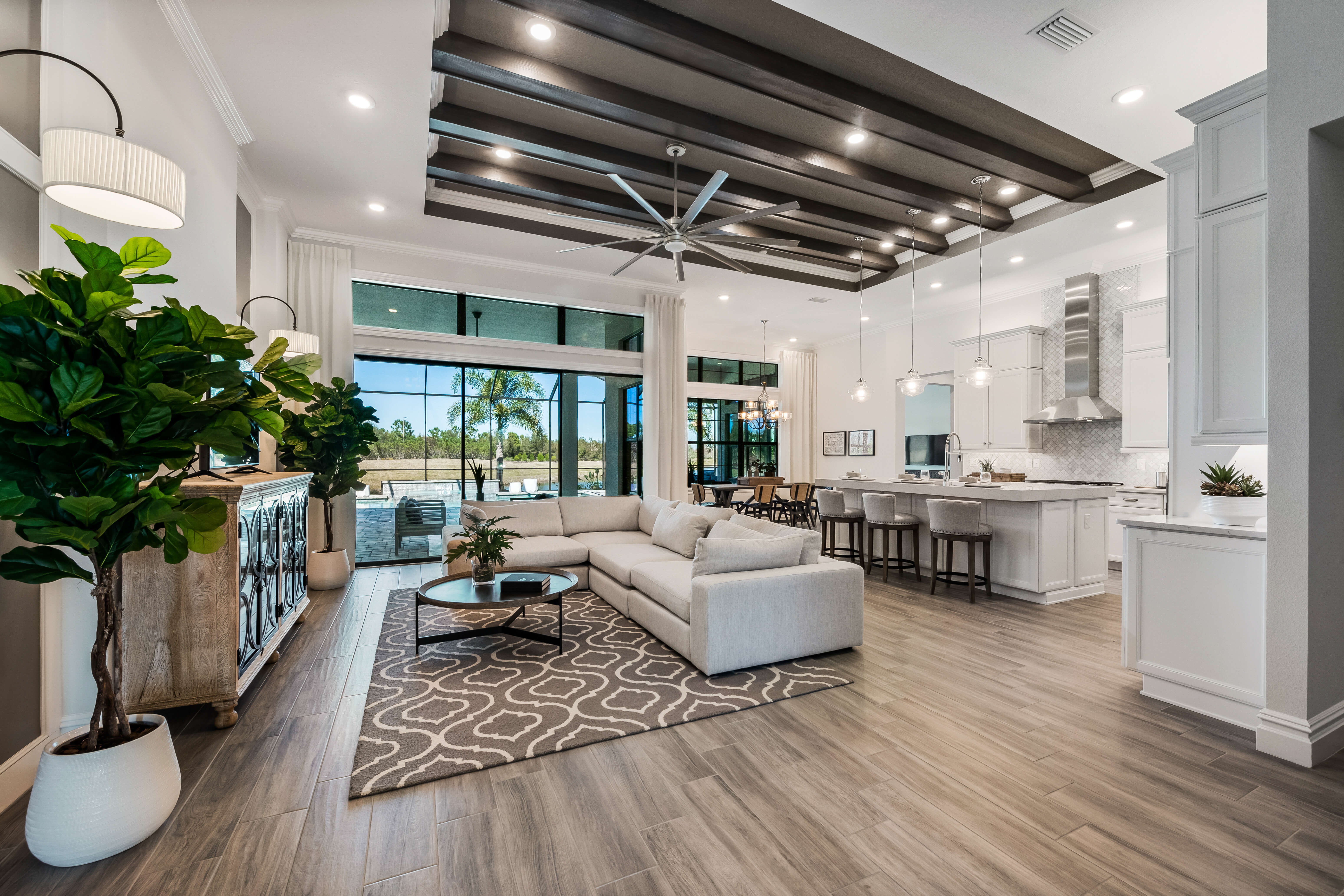 New Tampa Single Family Home Quick Possession Toriana in Lakewood Ranch, located at 16613 Berwick Terrace, Lakewood Ranch, FL 34202 Built By Cardel Homes Tampa