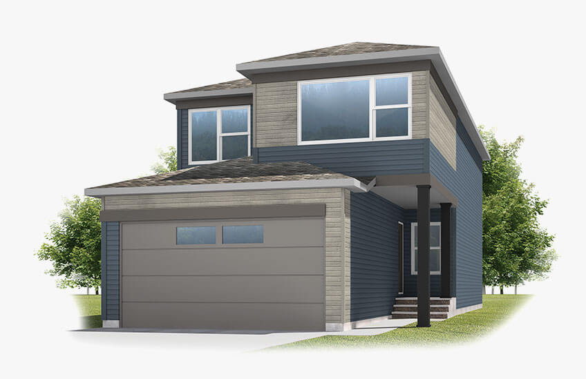 New Calgary Single Family Home Quick Possession Emerge in Savanna, located at 21 SAVANNA GREEN NE Built By Cardel Homes Calgary