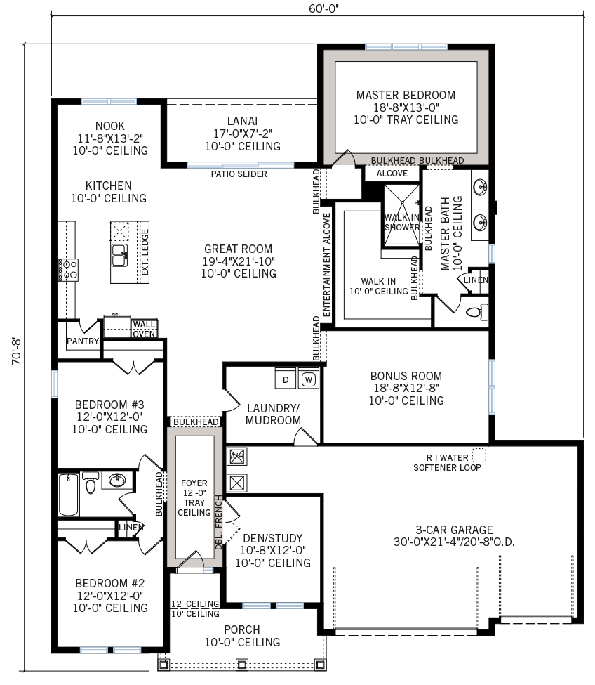 New Tampa Single Family Home Quick Possession Barrett Floorplan in Bexley, located at 3958 BLUE LANTANA LANE,<br /> LAND O' LAKES, FL 34638 Built By Cardel Homes Tampa