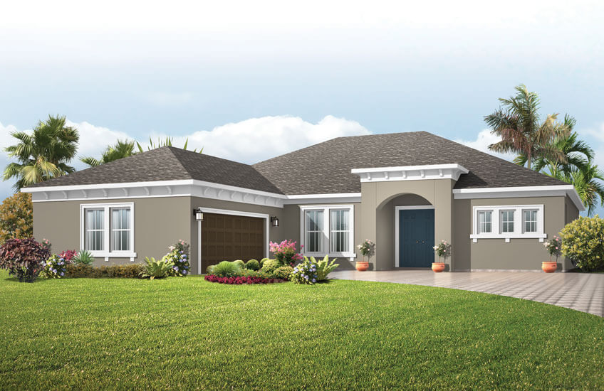 New Tampa Single Family Home Quick Possession Martin in Bexley, located at 16599 CHORD DRIVE, <br />