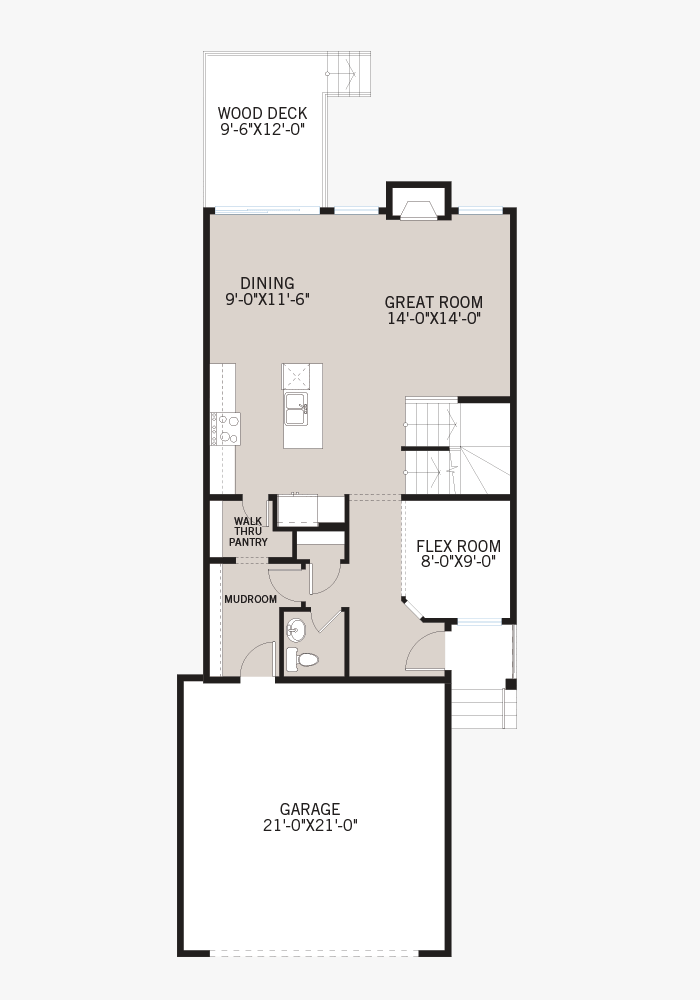 The Emerge home upper floor quick possession in Savanna, located at 21 SAVANNA GREEN NE Calgary Built By Cardel Homes