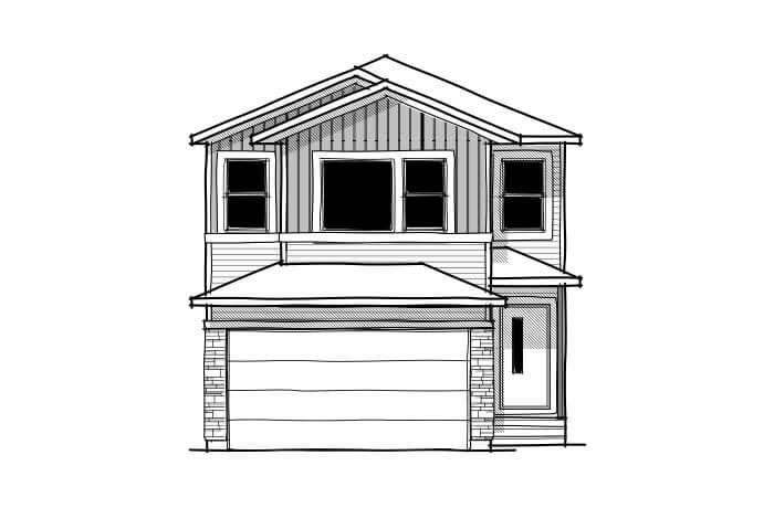 New home in EVO 1 in Savanna, 2,014 SQFT, 3 Bedroom, 2.5 Bath, Starting at 460,000 - Cardel Homes Calgary
