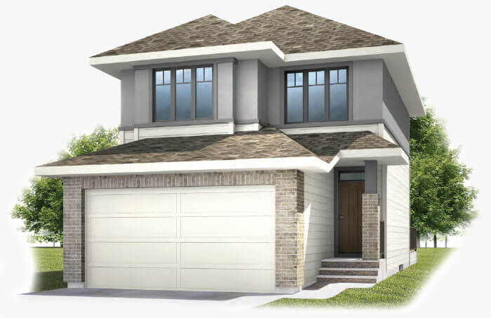 New Calgary Single Family Home Quick Possession Birch in Shawnee Park, located at 37 Shawnee Green SW  Built By Cardel Homes Calgary