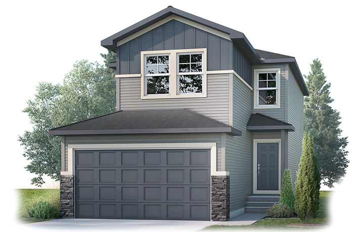 New home in EVO 1 in Cornerbrook, 2,014 SQFT, 3 Bedroom, 2.5 Bath, Starting at 480000 - Cardel Homes Calgary