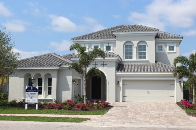 New Tampa Single Family Home Quick Possession Palazzo in Lakewood Ranch, located at 7508 Windy Hill Cove, Lakewood Ranch, FL 34202 Built By Cardel Homes