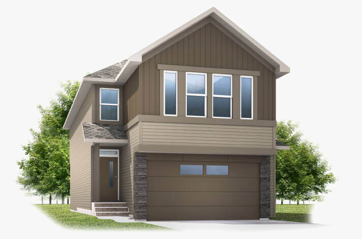 New Calgary Single Family Home Artisan 1 in Shawnee Park, located at 10 Savanna Gardens NE Built By Cardel Homes Calgary