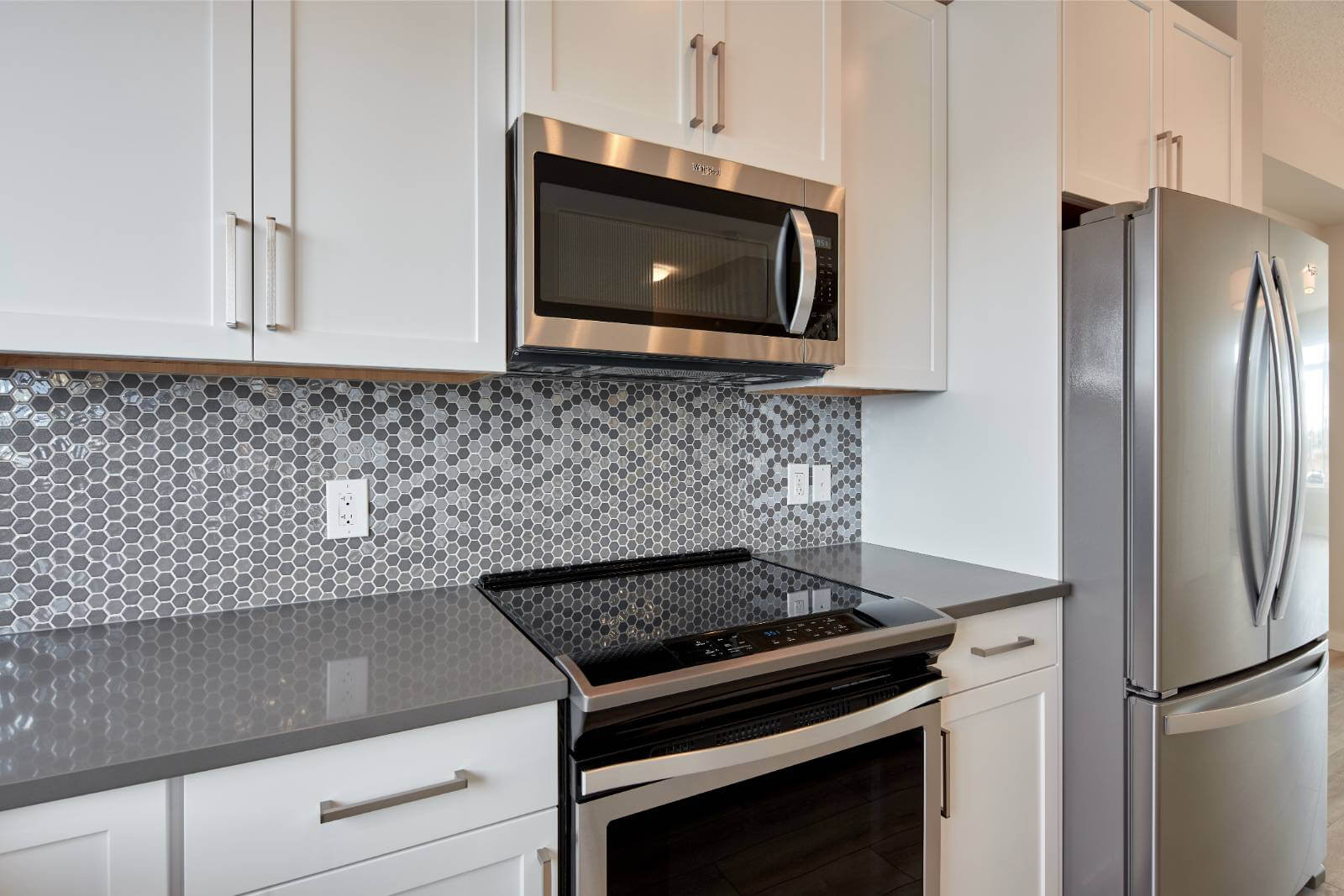 New Calgary Single Family Home Quick Possession Iris 2 in Walden, located at 45 WALCREST GATE SE Built By Cardel Homes Calgary