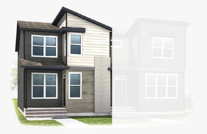 New Calgary Single Family Home Quick Possession Indigo 1 in Walden, located at 867 Walgrove Blvd SE Built By Cardel Homes Calgary
