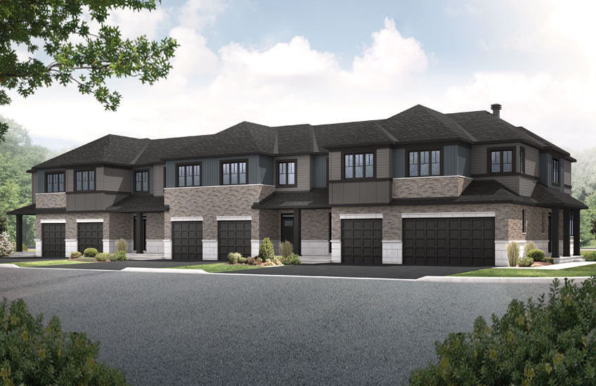 New Ottawa Towns Home Quick Possession Teak in EdenWylde, located at 48 Jardiniere Street, Stittsville Built By Cardel Homes Ottawa