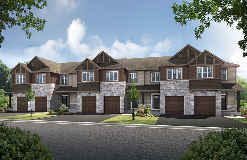 New Ottawa Towns Home Quick Possession Aster 2 in Millers Crossing in Carleton Place, located at 72 Stokes Drive, Carleton Place Built By Cardel Homes Ottawa