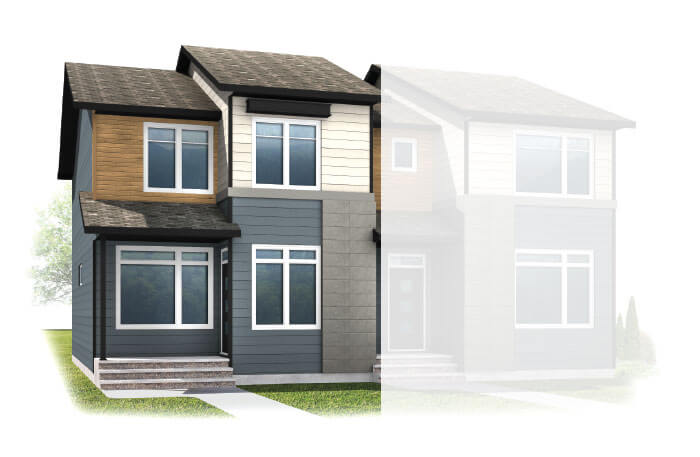 New Calgary Single Family Home Quick Possession Indigo 1 in Walden, located at  57 WALCREST GATE SE Built By Cardel Homes