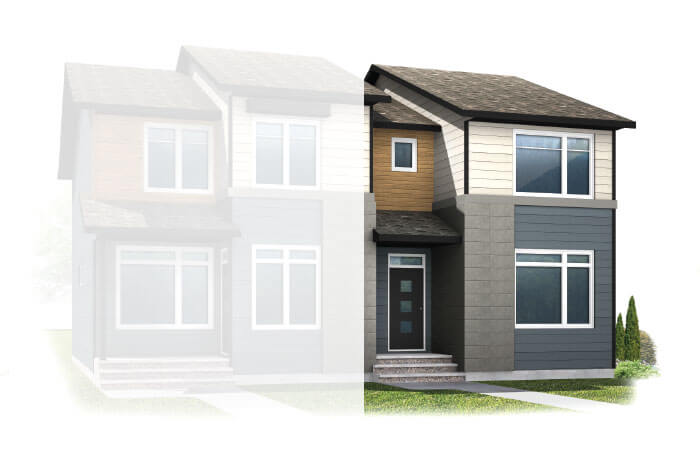 New Calgary Single Family Home Quick Possession Cobalt 1 in Walden, located at 61 WALCREST GATE SE Built By Cardel Homes