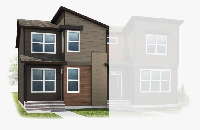 New Calgary Single Family Home Quick Possession Soho1X in Walden, located at 65 WALCREST GATE SE Built By Cardel Homes Calgary