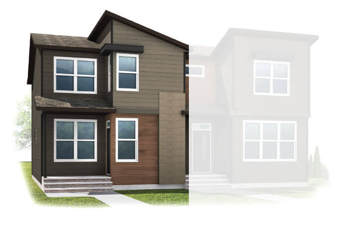 New Calgary Single Family Home Quick Possession Soho1X in Walden, located at 65 WALCREST GATE SE Built By Cardel Homes