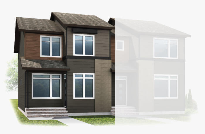New Calgary Single Family Home Quick Possession Cobalt 1 in Walden, located at 25 WALCREST GATE SE Built By Cardel Homes Calgary