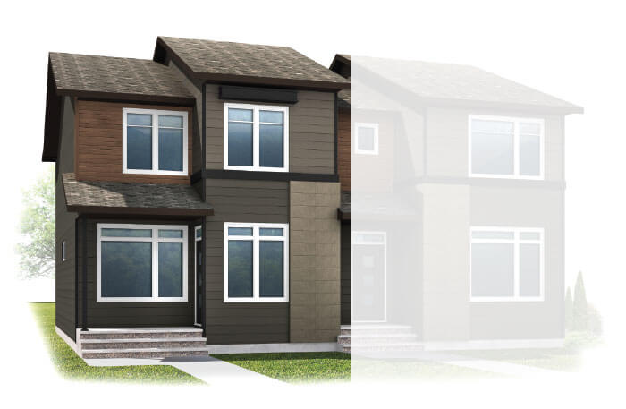 New Calgary Single Family Home Quick Possession Cobalt 1 in Walden, located at 25 WALCREST GATE SE Built By Cardel Homes