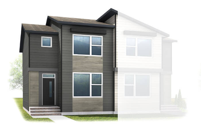 New Calgary Single Family Home Quick Possession Iris 2 in Walden, located at 33 WALCREST GATE SE Built By Cardel Homes