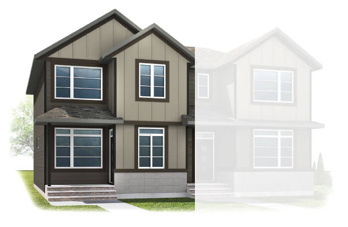 New Calgary Single Family Home Quick Possession Indigo 2 in Walden, located at  41 WALCREST GATE SE Built By Cardel Homes