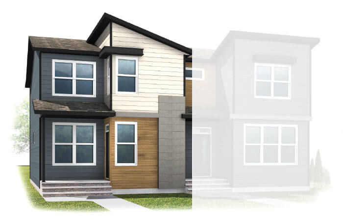 New Calgary Single Family Home Quick Possession Indigo 1 in Walden, located at 9 WALCREST GATE SE Built By Cardel Homes