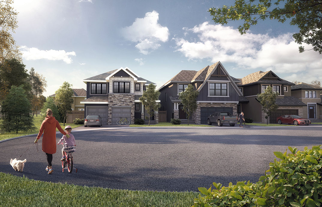 Through the deliberate blend of accessible conveniences, natural surroundings and premium homes, Shawnee Park is fast becoming one of Calgary's most sought-after neighbourhoods.