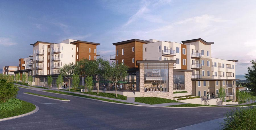 A master-planned multi-family and mixed use development featuring a range of modern condominiums and townhomes, direct access to the LRT and exciting new amenities.