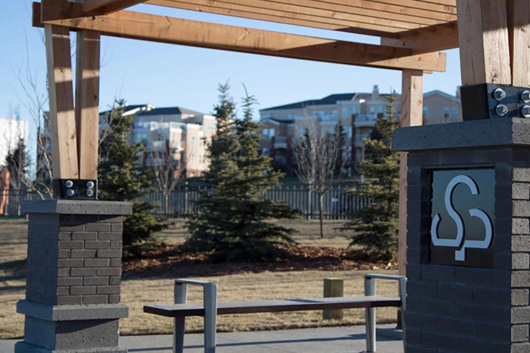 Shawnee Park playground developed by Cardel Homes Calgary