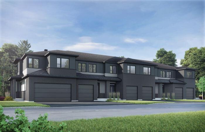 Finch - Elevation A1/Scheme 3 Elevation - 2,288 sqft, 3 Bedroom, 2.5 Bathroom - Cardel Homes Ottawa
