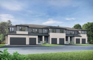 Finch - Elevation A1/Scheme 4 Elevation - 2,288 sqft, 3 Bedroom, 2.5 Bathroom - Cardel Homes Ottawa