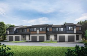 Heron - Elevation B1/Scheme 1 Elevation - 2,187 sqft, 3 Bedroom, 2.5 Bathroom - Cardel Homes Ottawa